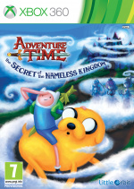 Adventure Time: The Secret of the Nameless Kingdom Cover (Click to enlarge)