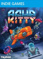 Aqua Kitty - Milk Mine Defender Cover (Click to enlarge)