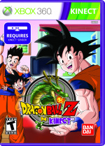 Dragon Ball Z for Kinect Cover (Click to enlarge)