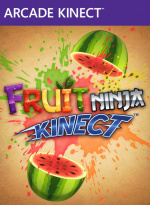 Fruit Ninja Kinect Cover (Click to enlarge)
