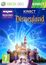 Kinect Disneyland Adventures Cover (Click to enlarge)