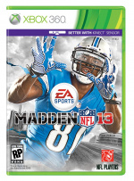 Madden NFL 13 Cover (Click to enlarge)