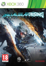 Metal Gear Rising: Revengeance Cover (Click to enlarge)