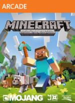 Minecraft: Xbox 360 Edition Cover (Click to enlarge)