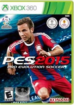 Pro Evolution Soccer 2015 Cover (Click to enlarge)