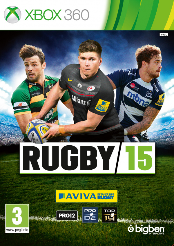 Rugby 15 [MULTILANGUES] [PAL] [XBOX 360]