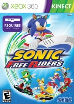Sonic Free Riders Cover (Click to enlarge)