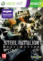 Steel Battalion: Heavy Armor Cover (Click to enlarge)