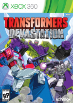 Transformers: Devastation Cover (Click to enlarge)