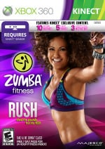 Zumba Fitness Rush Cover (Click to enlarge)