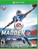 Madden NFL 16 Cover (Click to enlarge)