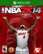 NBA 2K14 Cover (Click to enlarge)