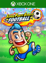 Super Party Sports: Football Cover (Click to enlarge)