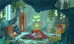 Seamus in the grotto