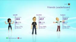 Kinect Playfit Leaderboard