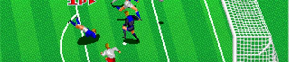 4. Euro Football Champ (Arcade, 1990)