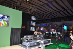 The Xbox One stage,