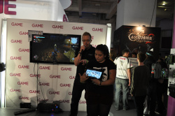 Fable Anniversary with SmartGlass being demonstrated at the GAME stand.
