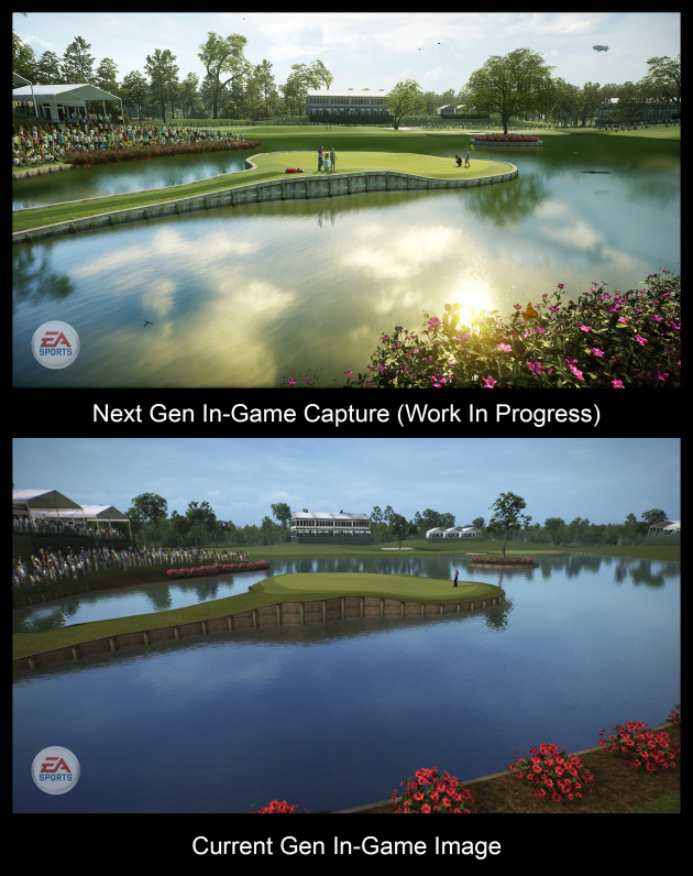 Current-Gen, Next-Gen Comparison