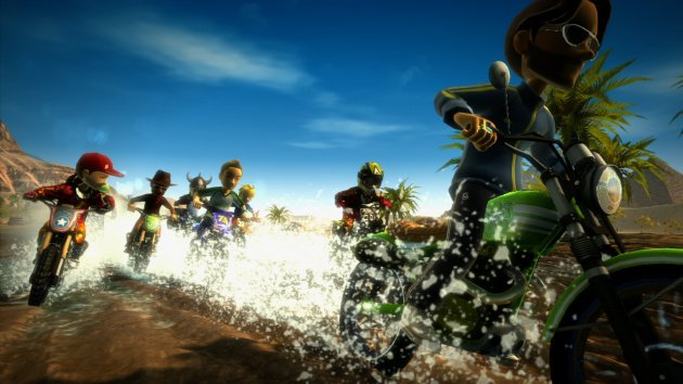 Motocross Madness makes a splash with avatars