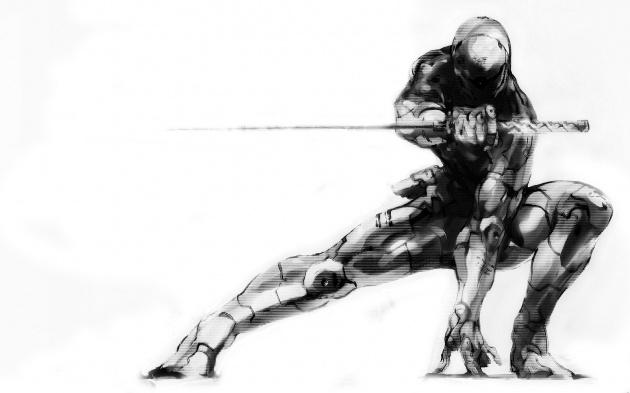 #6: Gray Fox - Metal Gear Solid