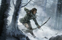 Concept art from the next Tomb Raider