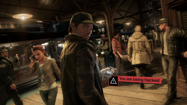 "Watch Dogs -- ""You are being hacked"""