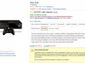 Amazon US Removes Kinect-free Xbox One From Sale Due to Hardware Issues
