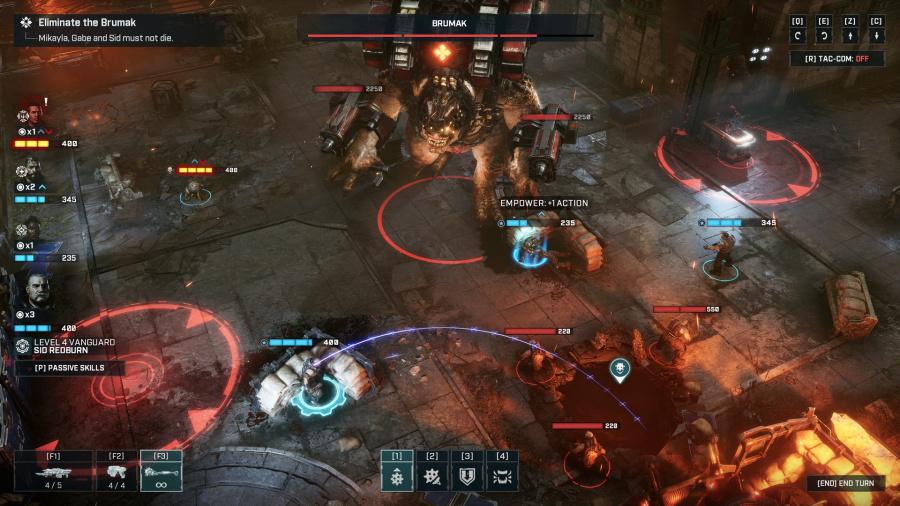 Gears Tactics Review - Screenshot 2 of 5