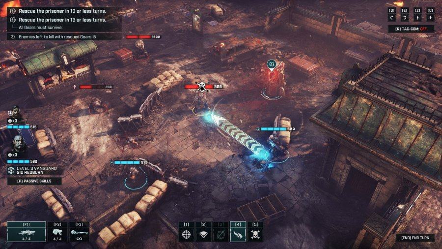 Gears Tactics Review - Screenshot 1 of 5