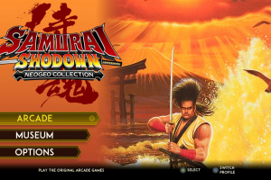 Samurai Shodown NeoGeo Collection Screenshot