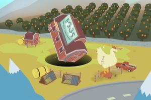 Donut County Screenshot
