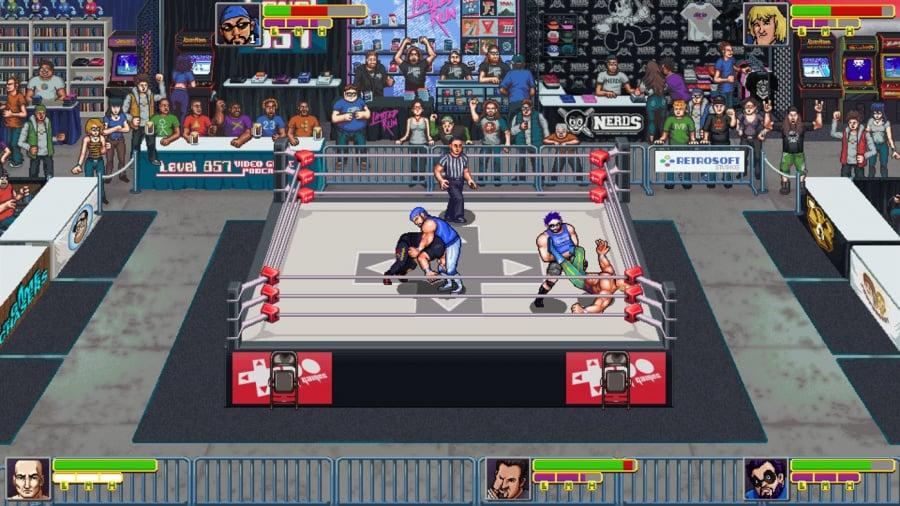 RetroMania Wrestling Review - Screenshot 1 of 7
