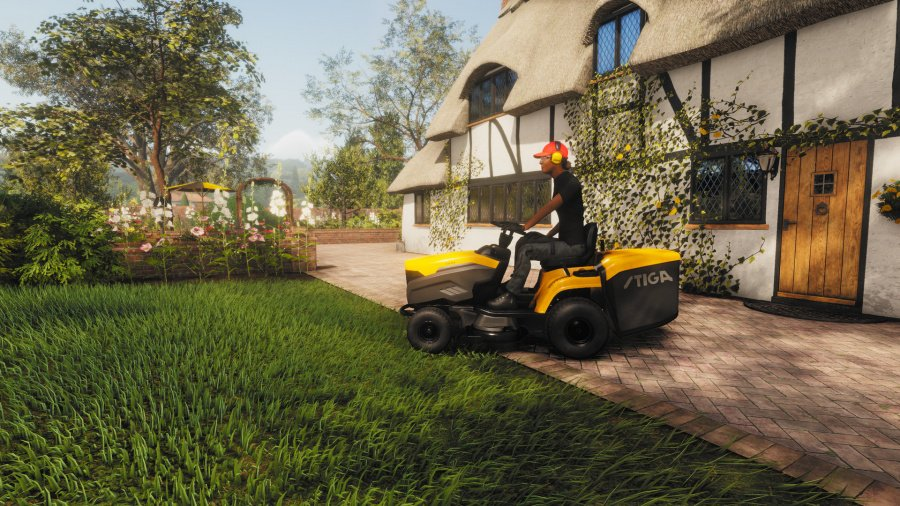 Lawn Mowing Simulator Review - Screenshot 1 of 6