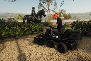 Lawn Mowing Simulator Screenshot