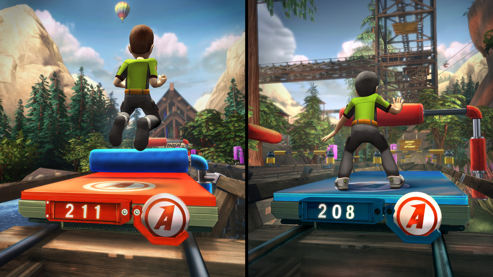 Kinect Adventures Screenshot