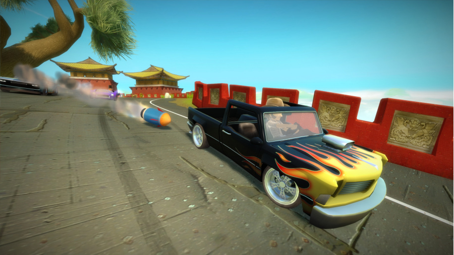 Kinect Joy Ride Review - Screenshot 1 of 3