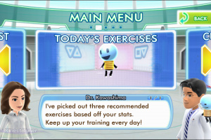 Dr Kawashima's Body and Brain Exercises Screenshot
