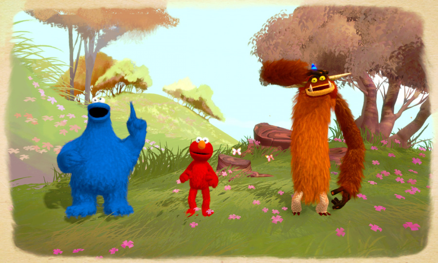 Sesame Street: Once Upon a Monster Review - Screenshot 1 of 3
