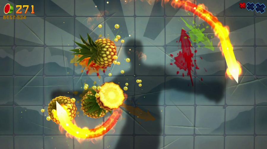 Fruit Ninja Kinect Review - Screenshot 1 of 4