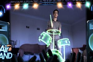Kinect Fun Labs: Air Band Screenshot