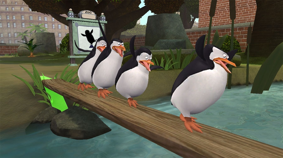 The Penguins of Madagascar: Dr. Blowhole Returns Again! Review - Screenshot 1 of 2