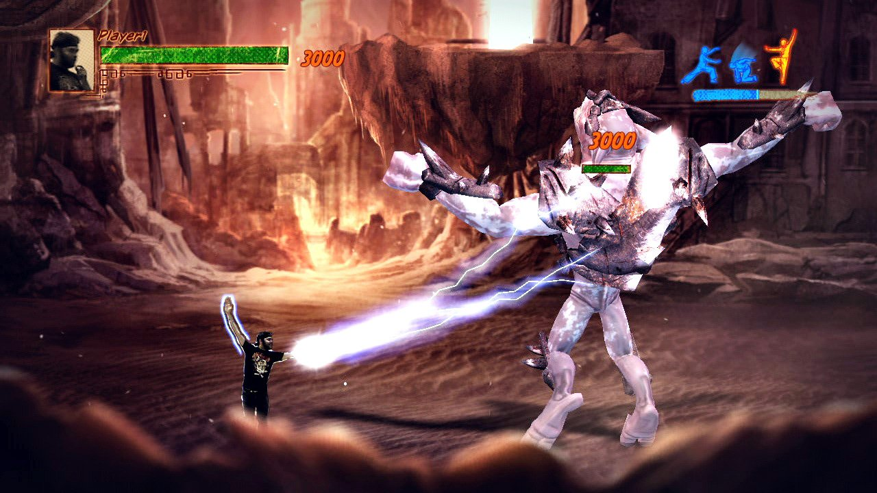 Kung Fu High Impact Screenshot