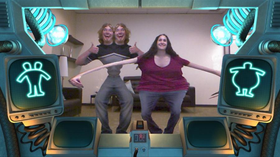 Kinect Fun Labs: Mutation Station Review - Screenshot 1 of 2