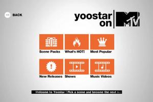 Yoostar on MTV Screenshot