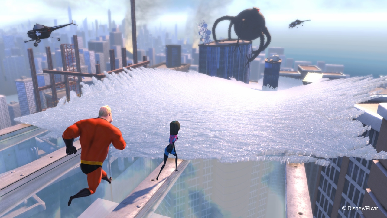 Kinect Rush: A Disney Pixar Adventure Screenshot