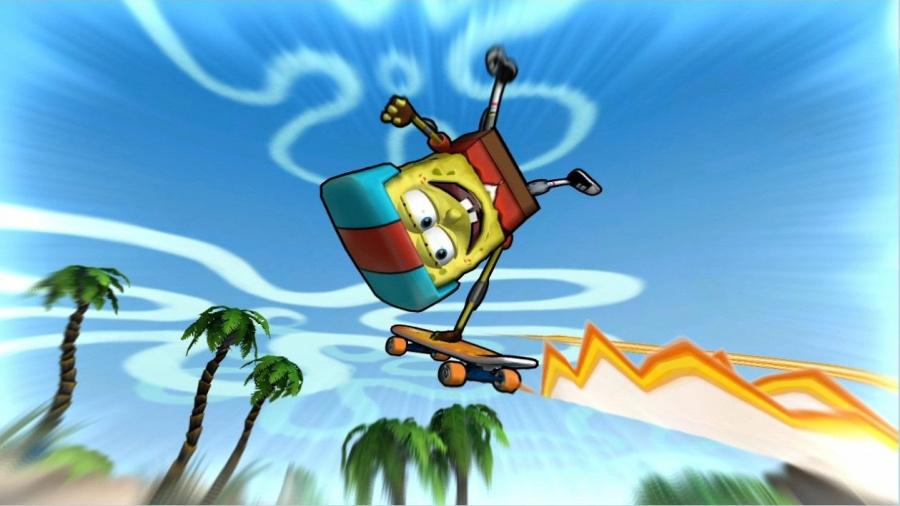 SpongeBob's Surf & Skate Roadtrip Review - Screenshot 1 of 2