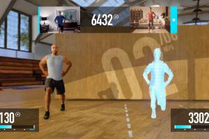 Nike+ Kinect Training Screenshot
