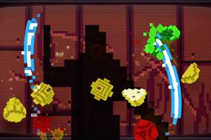 Fruit Ninja Kinect Screenshot