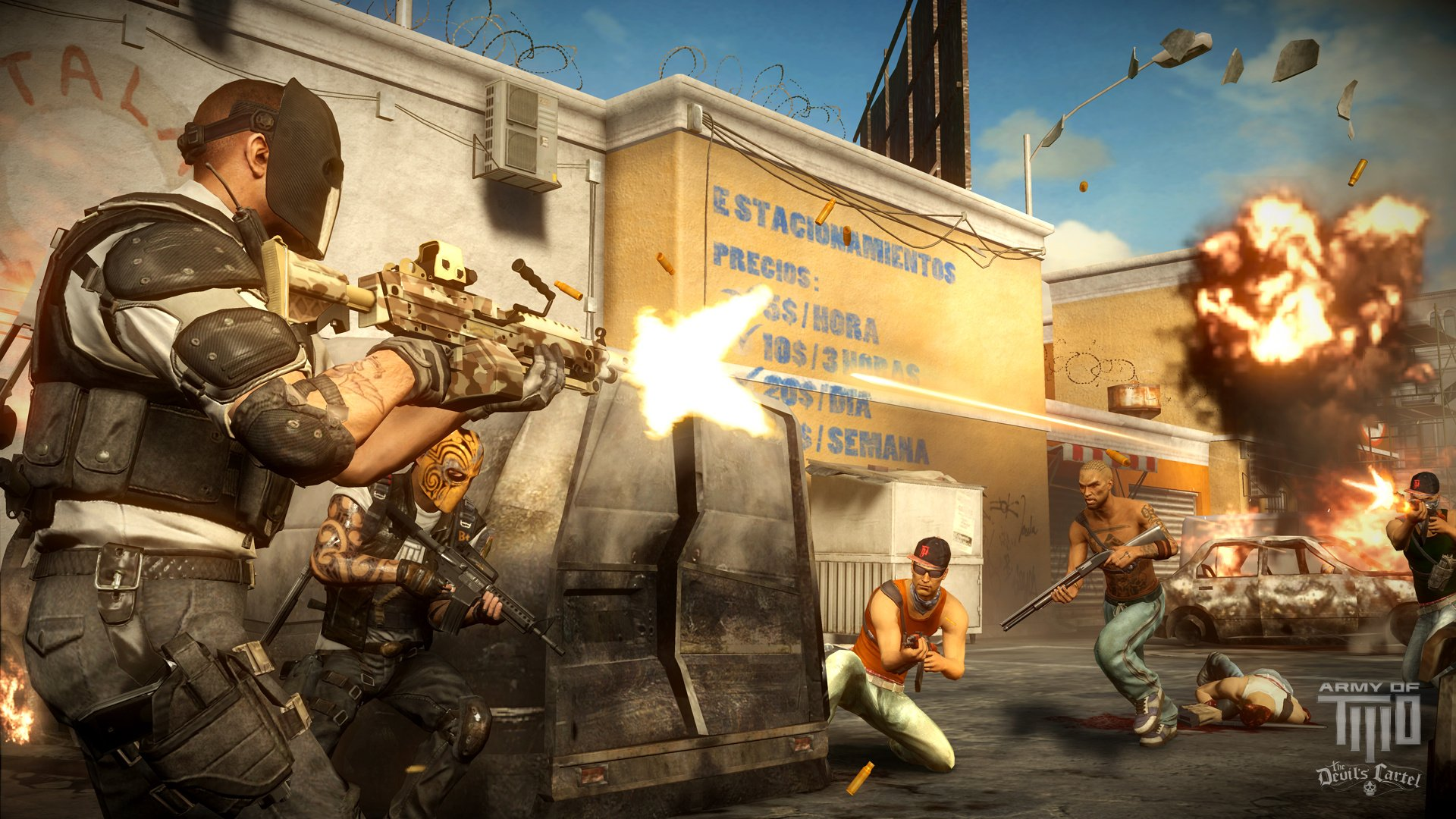 Army of Two: The Devil's Cartel (Xbox 360) News, Reviews ...